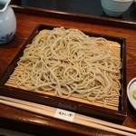 蕎麦きり吟 - せいろ(750円)2015年10月