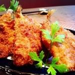 お箸BARおれお - 和歌山 加太のとれたてキスフライ。期間限定です。