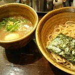 43216192 - ベジポタ味玉入りつけ麺
