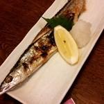 はなみず木楽食処 - 秋刀魚