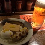ラーメンBAR やきそばー HIT - おでん ビール201506
