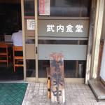武内食堂 - こんな雰囲気です(゚Д゚≡゚Д゚)