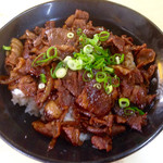 武内食堂 - 焼肉丼700円