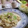 かんじゃ - 料理写真:山椒ちりめんのピラフセット