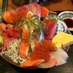 43219405 - 豪華海鮮丼1500円+税
