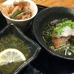 魚菜屋 海祭 - 1000円で肴3種と1ドリンクが付いたお得なセット