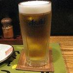 魚菜屋 海祭 - ドリンクはやっぱり生ビール!