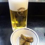 あんどん - 生ビール・お通し
