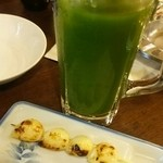 43220595 - おぉ、濃厚緑茶ハイ!このあと何杯呑みましたかな!