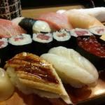 43221107 - 魚がし寿司・アップ。