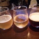 43221268 - (10/14)3種お試しセット(秋田美人のビール、グレフル入れちゃいました、DRY BROWN