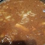 麺屋 狢 - 濃厚煮干しつけ麺のつけ汁