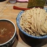 麺屋 狢 - 濃厚煮干しつけ麺【男盛】 980円