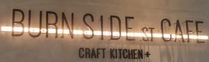 BURN SIDE ST CAFE CRAFT KITCHEN+  KUZUHA