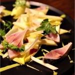 lumielune - 〆鯖と紅玉林檎、アンディーブ