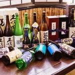 炭火焼鳥厨房 河内屋 - 日本酒