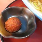 寅真らーめん - 辛味噌50円。                       27.10.14
