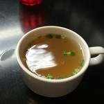 43230379 - 一緒に付いて来るスープ