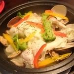 43230589 - たっぷり野菜のアクアパッツァ コース