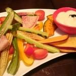 43230596 - 焼き野菜盛り合わせ コース