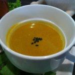絵本と珈琲 ペンネンネネム green - カボチャのスープ