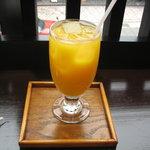 豆本舗 藤乃家 - オレンジジュース