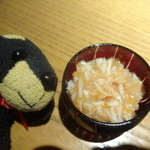 九州黒太鼓 - お通し(梅水晶)