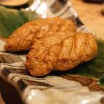 手打蕎麦 まるやま - 蕎麦がきのさつま揚げ風 (2015/09)