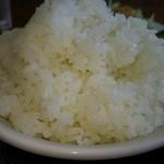 徳次郎食堂 - ご飯 普通盛りより少なめ