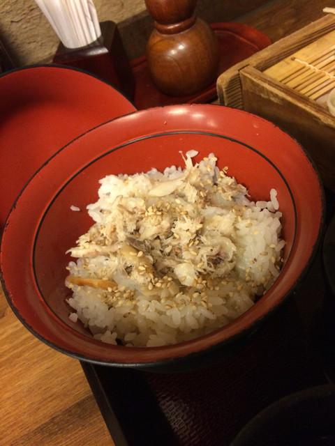 蕎麦 冷麦 嵯峨谷 - あじ御飯