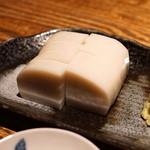 蕎 ふるやま - 料理写真:板わさ (籠清) (2015/09)