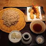 蕎 ふるやま - 天せいろ (2015/09)