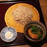 蕎 ふるやま - 飛龍頭そば (2015/09)