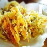 Yamabiko - 山芋と野菜のかき揚げ☆