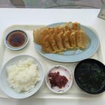 43246338 - ダブル定食①焼き餃子12個・ライスセット