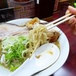 にぼshin. - 麺アップ