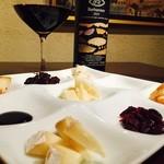 クラッ - イタリアより直輸入しているチーズの盛り合わせ!ワインにぴったりです!