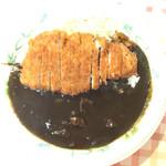 洋食工房 くつろぎ - 三元豚カツカレー(800円)