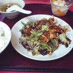 盛華飯店 - 日替わり定食 これで680円はすごい!