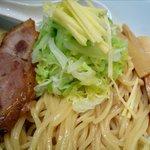 麺 eiji - 濃豚つけNIBOの麺と具材