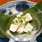 Kitchen 古時計 - クリームチーズの西京味噌漬け