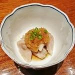 Kitchen 古時計 - 豚バラぽん酢(お通し)