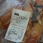 コープベーカリー - 料理写真:塩ぱんと明太フランス