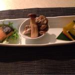 小松庵 - 少ない前菜