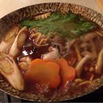 小松庵 - 牡蠣鍋