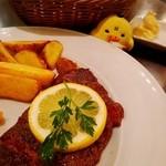 ノッカ イタリアン テーブル - キイロイトリ「私にもいただけませんか?」