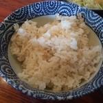 しずる - 麦飯
