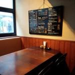 nobu - テーブル席
