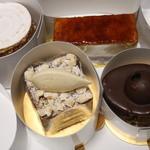 Patisserie Ravi,e relier - 4種類のケーキ