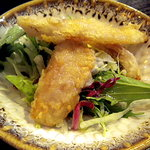 横浜中華街 薬膳火鍋 大草原 - 鮫の軟骨の唐揚げです